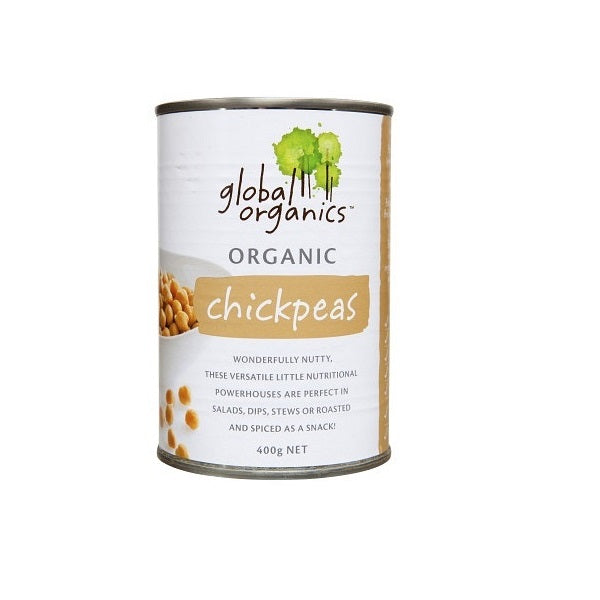 Global Organics Chickpeas 400g