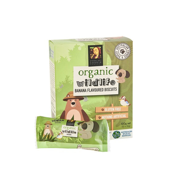 Byron Bay Cookie Wildlife Banana 100g