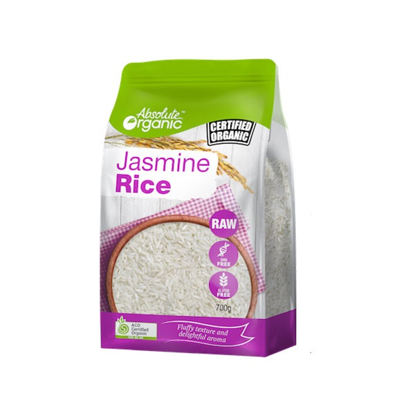 Absolute Organic - Rice - Jasmine 700g