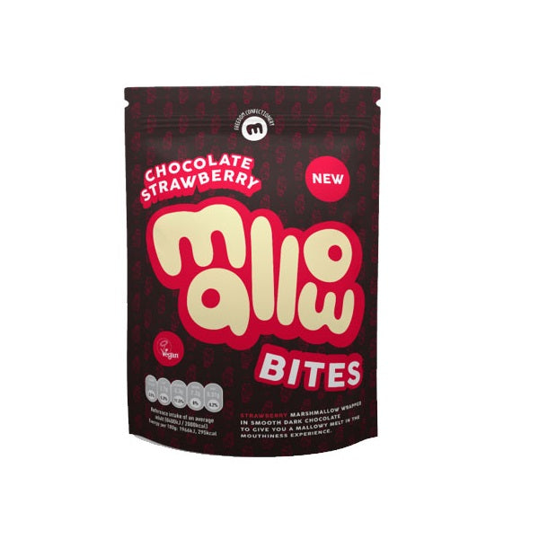 Free From Fellows Chocolate Coated Mellows - Stawberry 100g