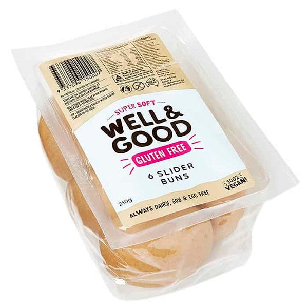 Well and Good Bread Roll Sliders 6PK