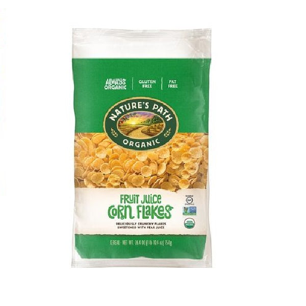 Natures Path Organic Corn Flakes 750g