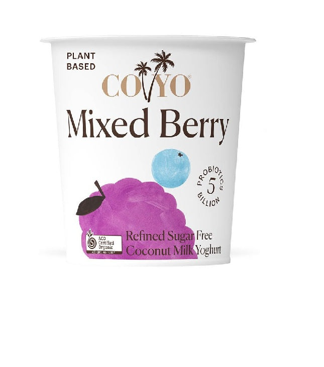 Coyo Yoghurt Mixed Berry 500g