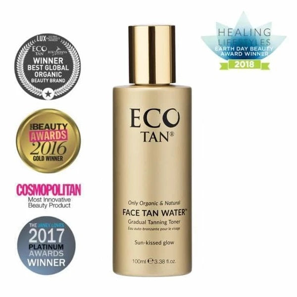 Eco - Tan Face Water 100ml