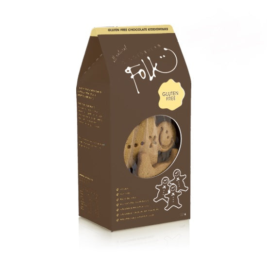 Gingerbread Folk Kiddiewinks - Chocolate 225g