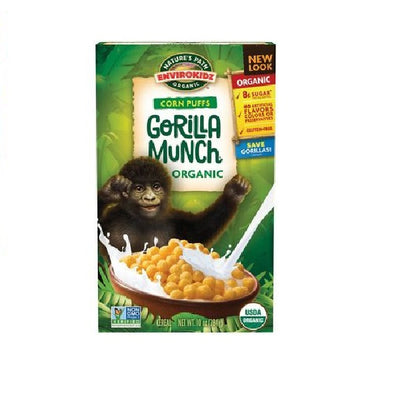 Natures Path GorillaMunch Corn Puffs 285g