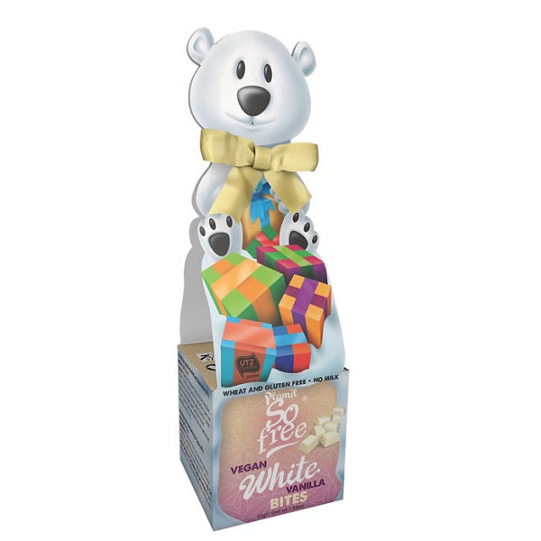 Plamil - So Free - White Choc Polar Bear Bowtie Box 55g