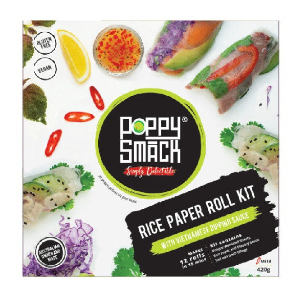 Poppy Smack Rice Paper Roll Kit  - Vietnamese 400g