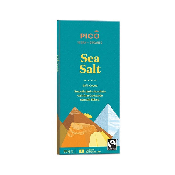 Pico Chocolate - Sea Salt 80g