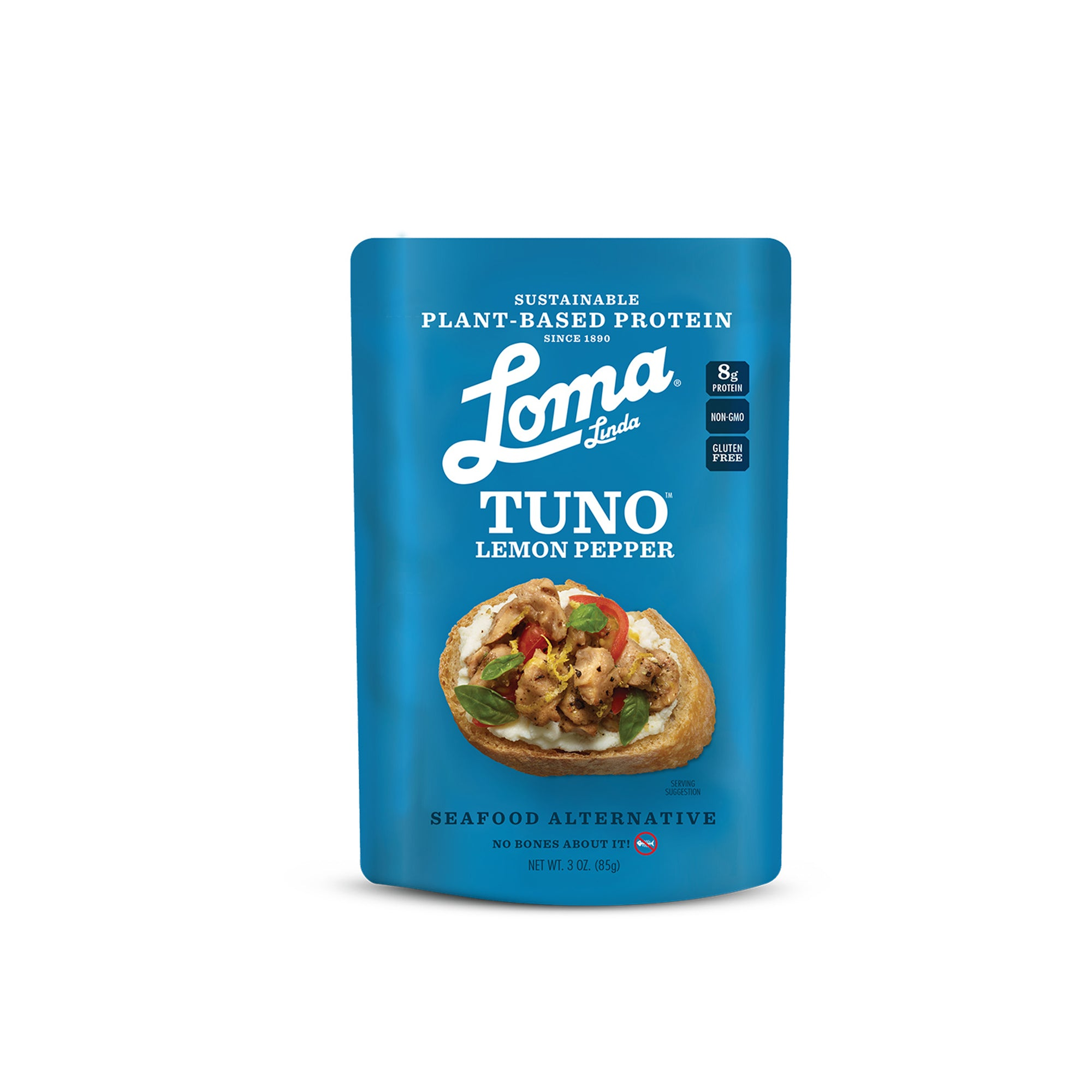 Loma - Tuna Pouch Lemon Pepper 85g