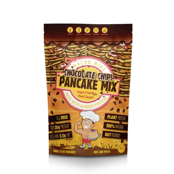 Macro Mike - Baking Mix - Chocolate Chip Pancake Mix 300g