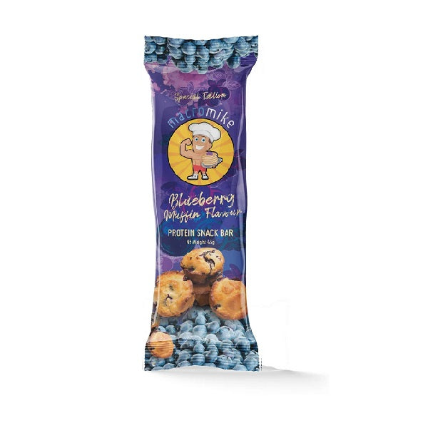 Macro Mike - Protein Bar - Blueberry Muffin 45g