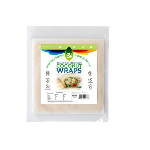 Nuco Coconut Wraps Natural (5) 70g