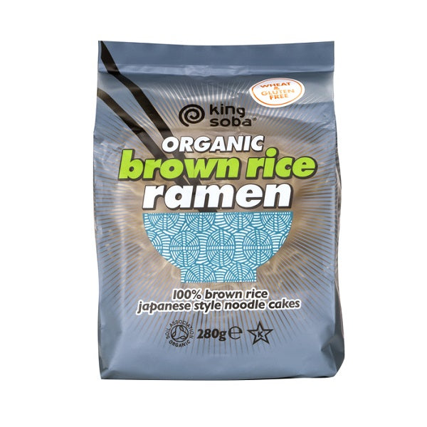 King Soba Ramen Brown Rice 280g