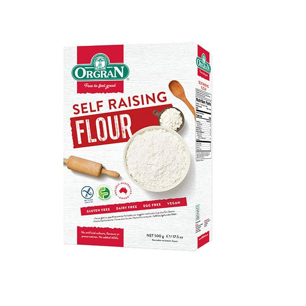 Orgran Flour Self Raising 500g