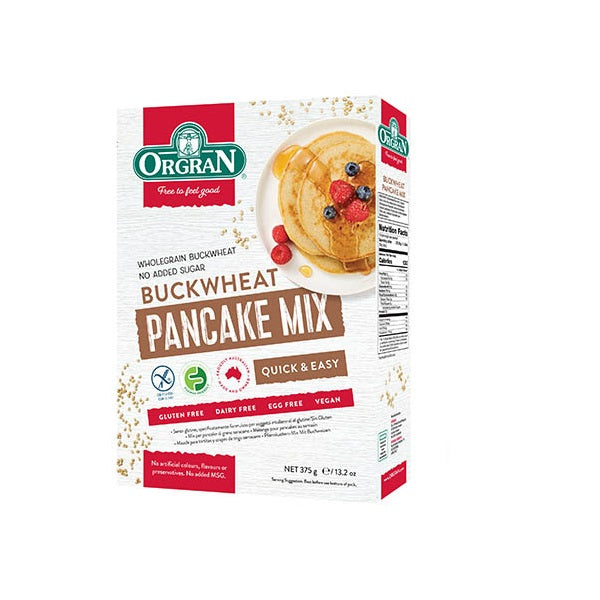 Orgran Pancake Mix Buckwheat 375g