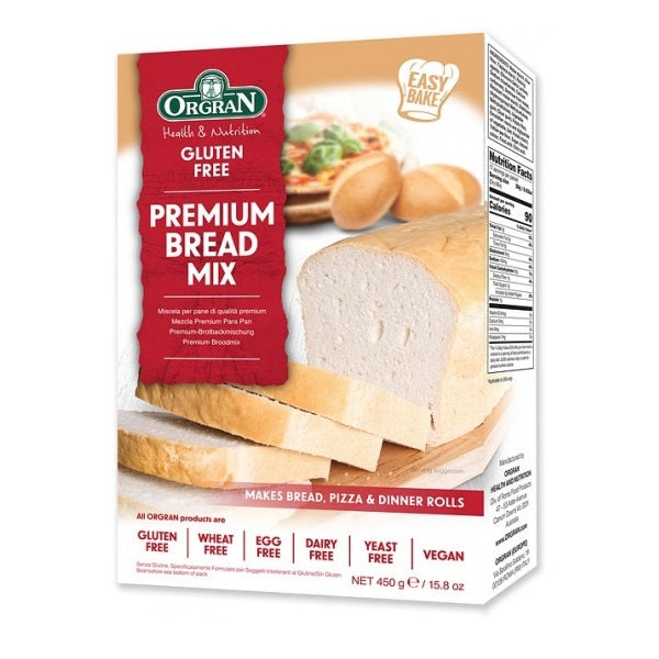 Orgran Bread Mix Plain 450g