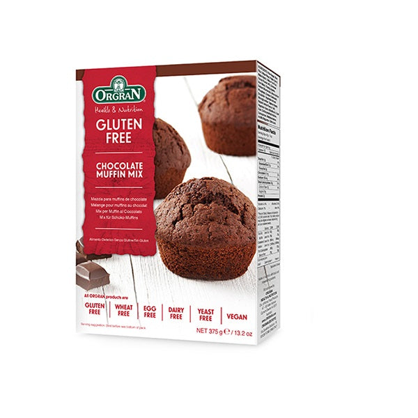 Orgran Cake Mix Chocolate Muffin 375g