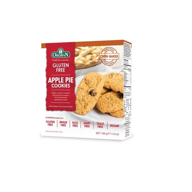 Orgran Biscuits Apple Pie130g