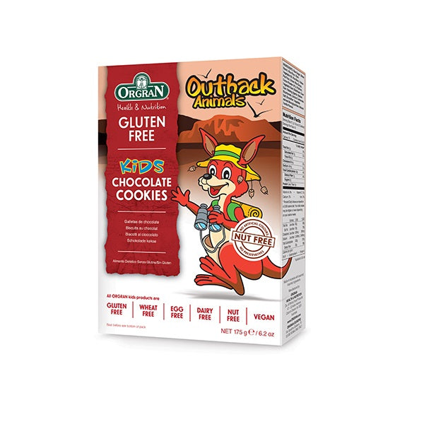 Orgran Biscuits Outback Animals Choc 175g