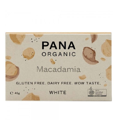 Pana Chocolate - White - Macadamia 45g