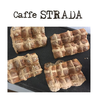 Caffe Strada Hot Cross Buns - Chocolate 6 Pack