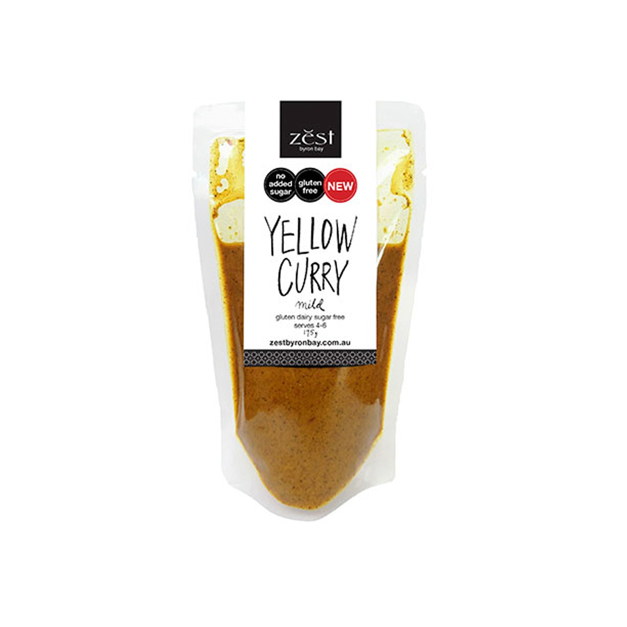 Zest Yellow Curry 175g