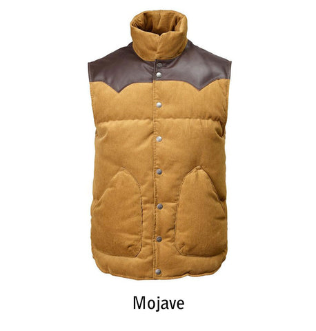 2002 W's Original Cord Vest color Mojave
