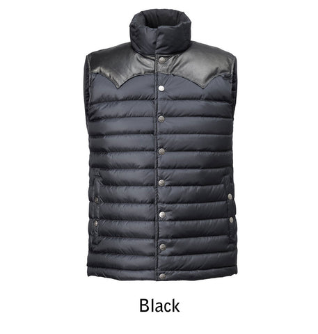 1005 M's Enclosure Down Vest color Black
