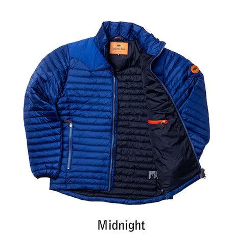 1207 M's Sundance Down Sweater color Midnight