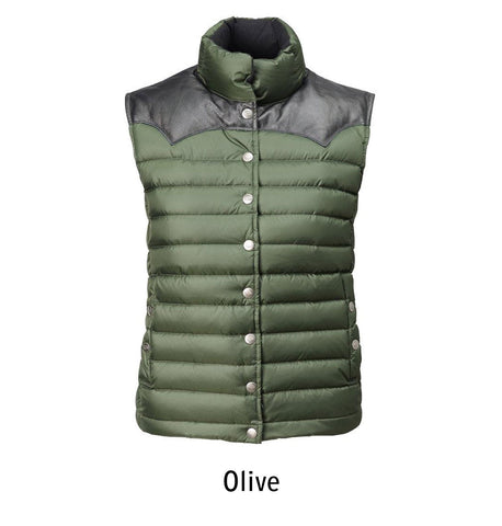 2005 W's Enclosure Down Vest color Olive