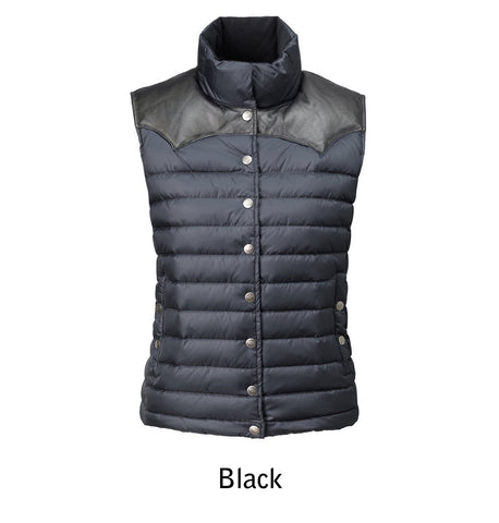 2005 W's Enclosure Down Vest color Black