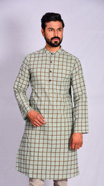 Men's Block Printed Kurta