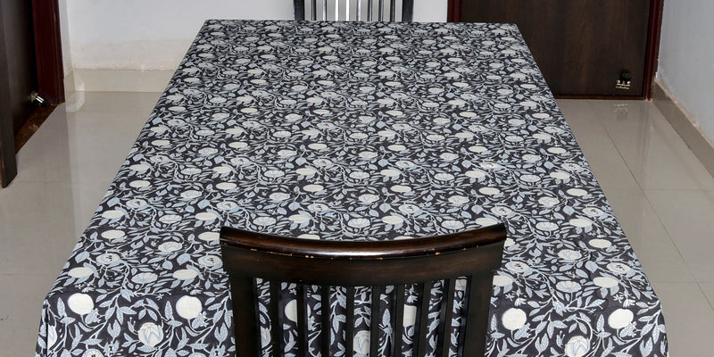 Pigment Printed Table Cover - Aavaran Udaipur