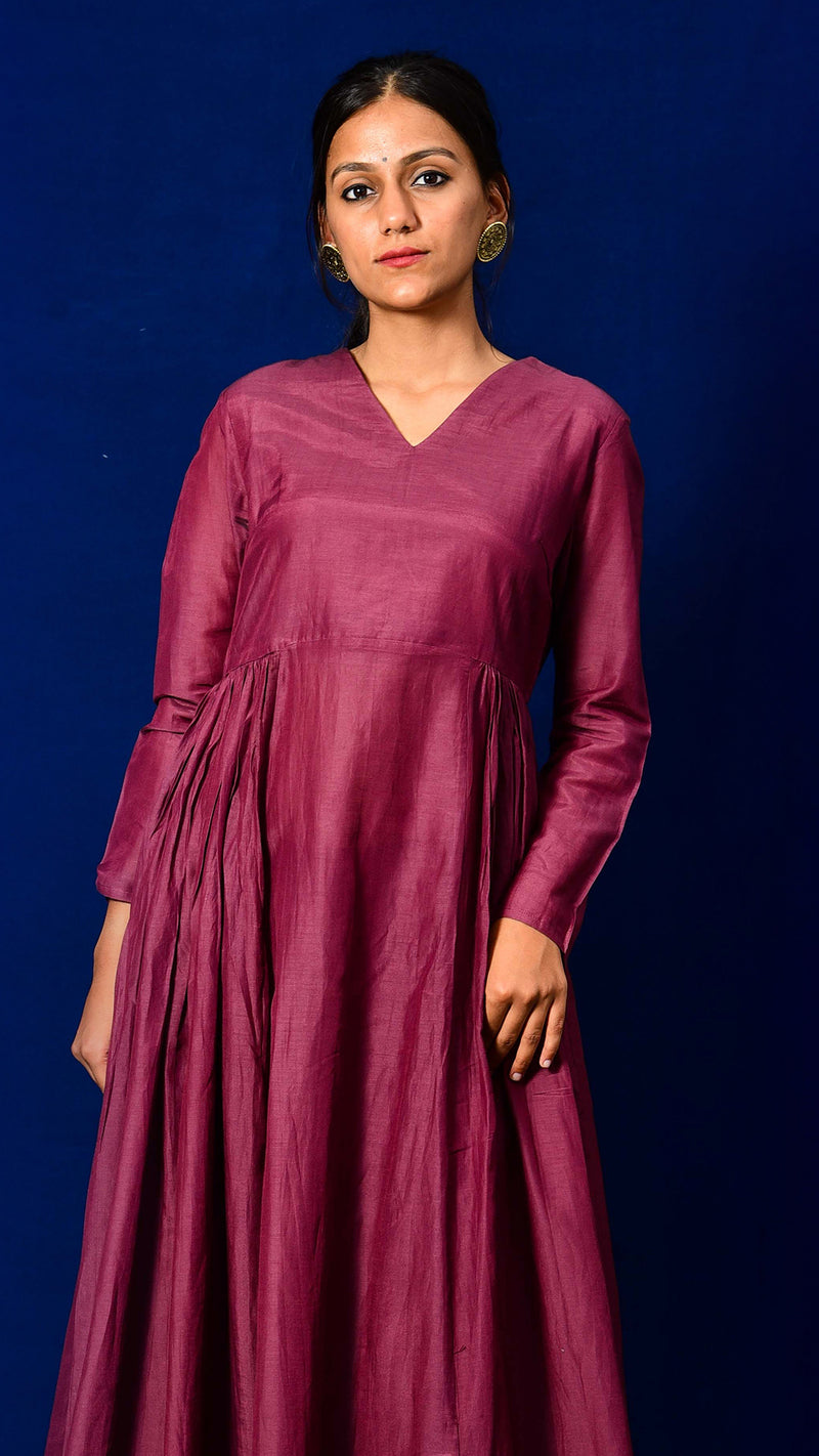Flared Long Kurta - Aavaran Udaipur