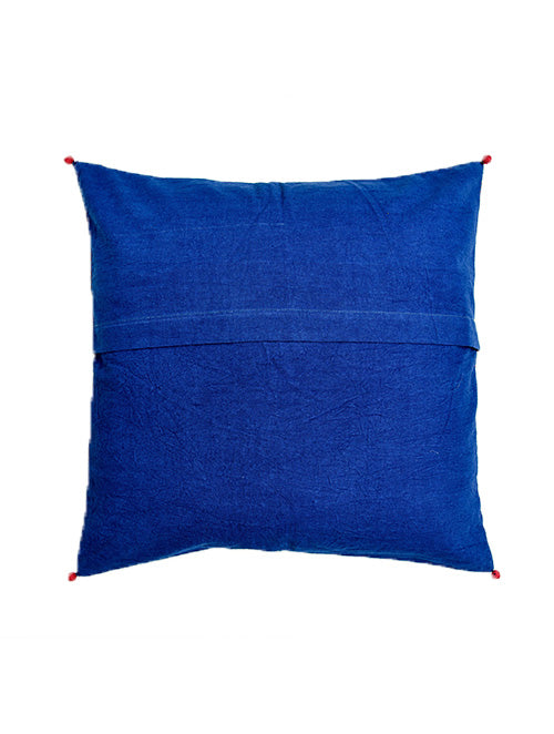 Indigo Patchwork Cushion Cover (Set of 2) - Aavaran Udaipur