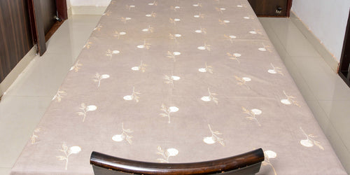 Kashish Dyed Dabu Printed Table Cover - Aavaran Udaipur