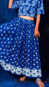 Flared Long skirt