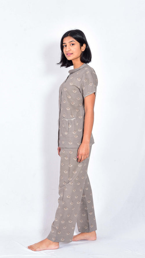 Hand block printed top and pajama - Aavaran Udaipur