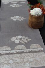 Kashish Dyed Dabu Printed Table Runner - Aavaran Udaipur