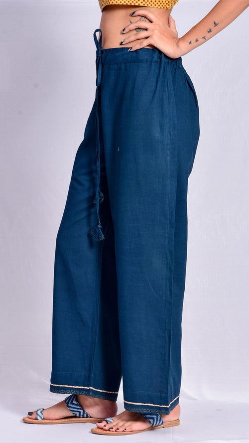 Indigo Nashpal Straight Pants