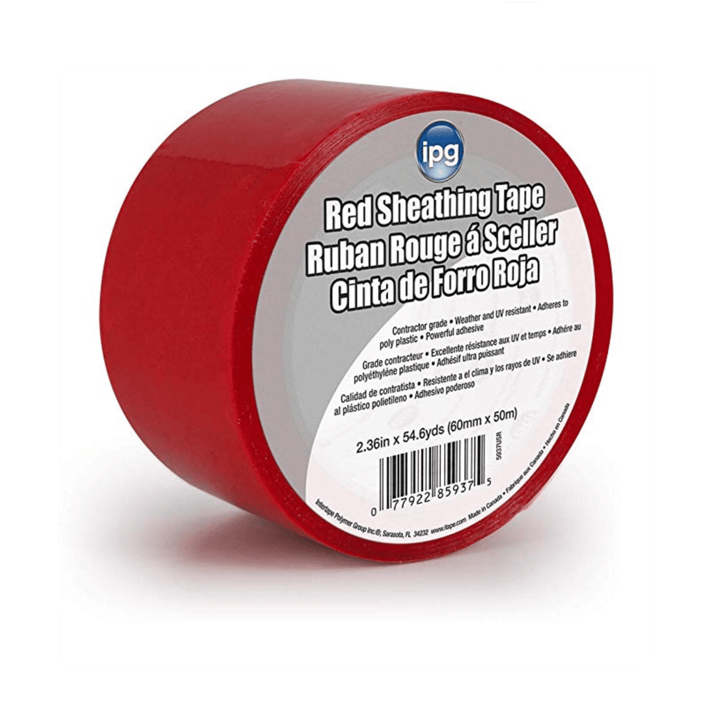 Red Sheathing Tape - [purepoxy.us]