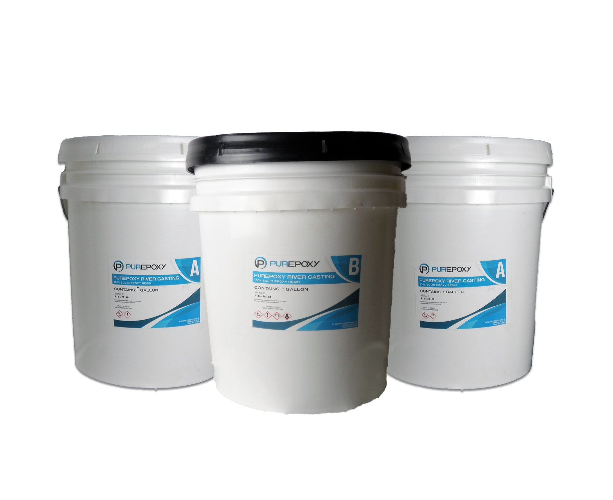 PurEpoxy Casting Resin | 15 Gal Kit