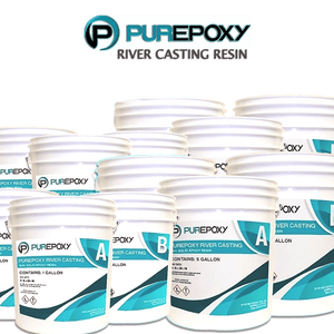 PurEpoxy River Casting Resin 3 Gal Kit - [purepoxy.us]