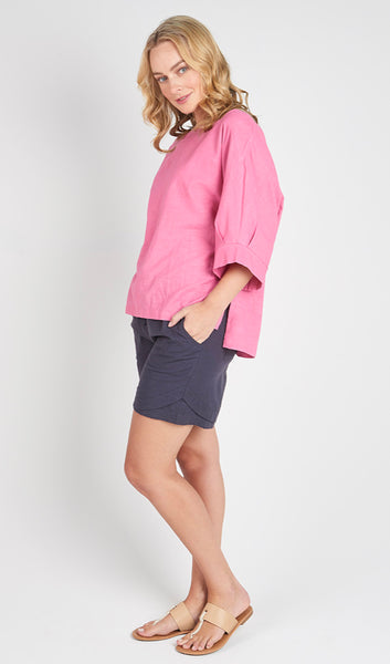 Torju Endless Summer top in rose organic cotton