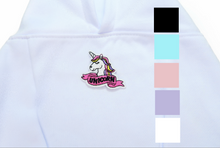 Load image into Gallery viewer, Pink Unicorn Hoodie