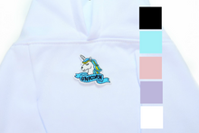 Load image into Gallery viewer, Blue Unicorn Hoodie