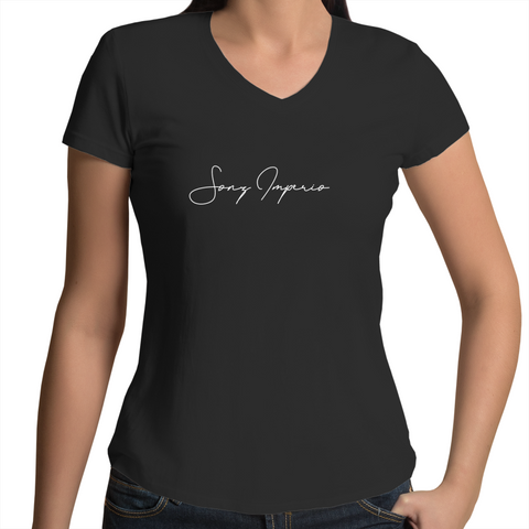 SI Signature V-Neck Tees