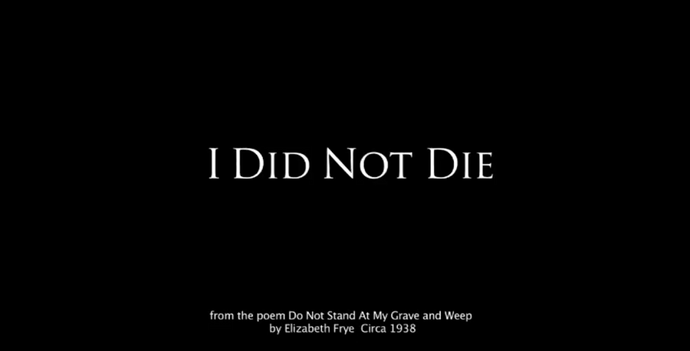 I Did Not Die | A Beautiful Message from the Spirit World