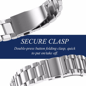 Stainless Steel watch Band for Samsung gear S3 Classic Metal Strap - RV Online UK
